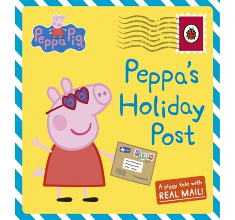Peppa's Holiday Post, 52 Pages Book by Ladybird, Hardback