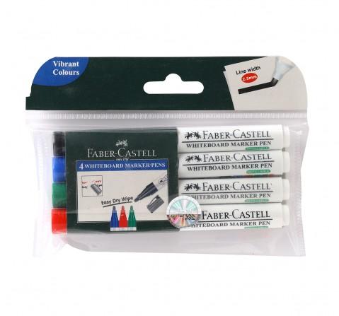 Faber-Castell 155404-whiteboard marker pen set of 4, 18Y+