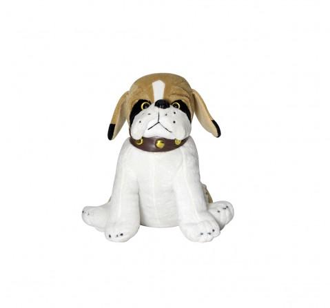 Soft Buddies Sitting Bulldog M, Unisex, 1Y+(Multicolour)