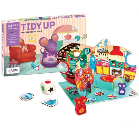 Chalk and Chuckles Tidy Up ,  2Y+
