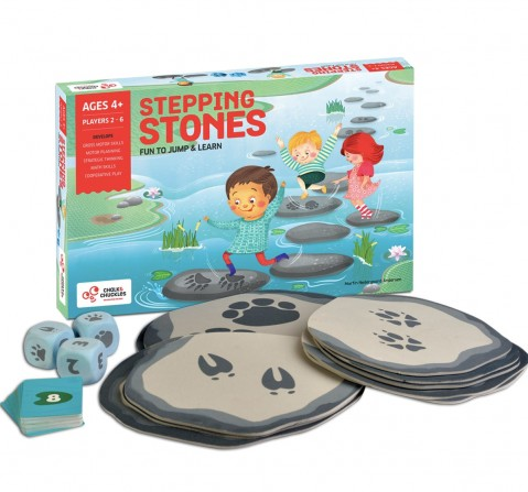 Chalk and Chuckles Stepping Stones,  4Y+