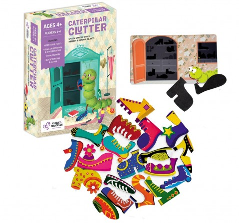 Chalk and Chuckles Caterpillar Clutter,  4Y+
