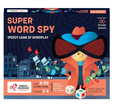 Chalk and Chuckles Super Word Spy,  6Y+