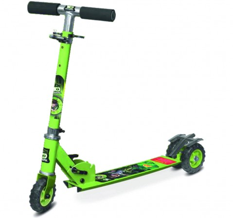 Toyzone Ben 10 3-Wheel Scooter (Square), 4Y+