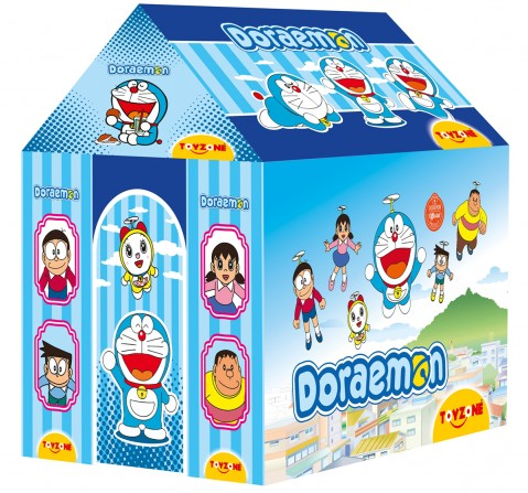 Toyzone Doraemon Kids Tent House, 3Y+