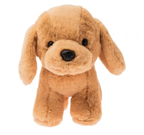 Dimpy Toys Dog With Collar Brown, Unisex, 3Y+(Brown)