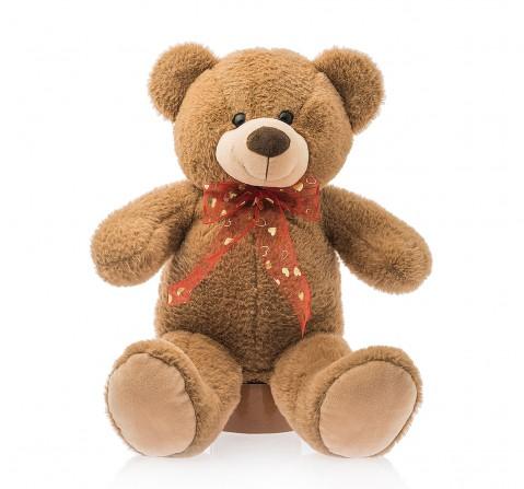 Dimpy Toys Standing Bear Brown 50 Cm, Unisex, 3Y+(Brown)