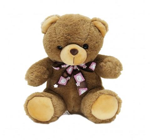 Dimpy Toys Premium Bear Dark Brown 24 Cm, Unisex, 3Y+(Brown)