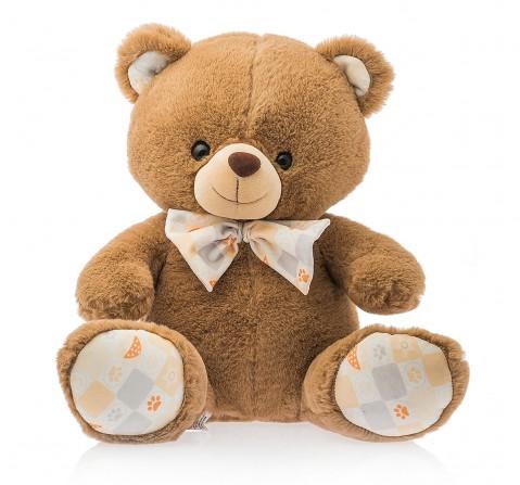 Dimpy Toys Sitting Premium Bear Dark Brown 38 Cm, Unisex, 3Y+(Brown)