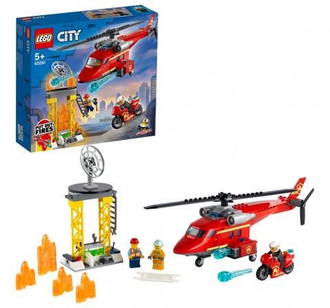 Lego Fire Rescue Helicopter V29, Unisex, 5Y+, (Multicolor)