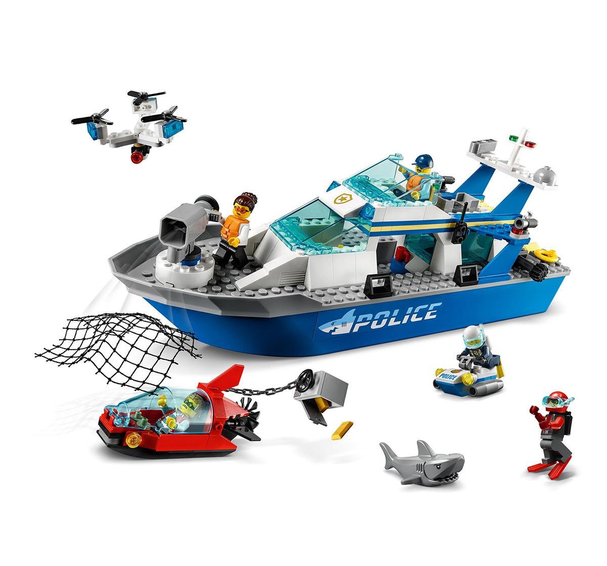 Lego Police Patrol Boat V29, Unisex, 5Y+, (Multicolor)