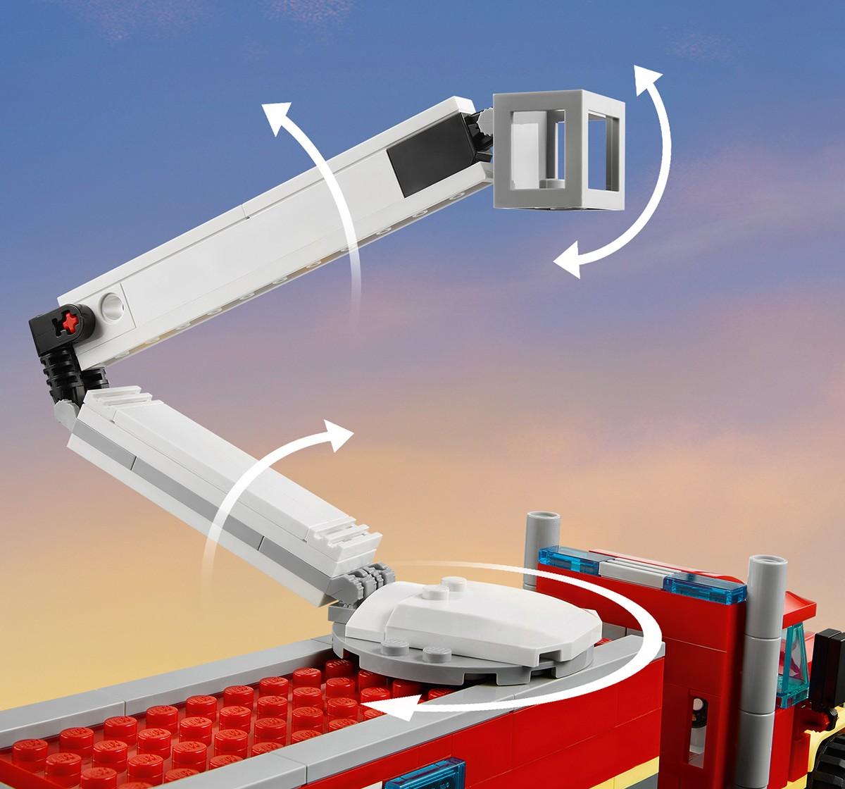 Lego Fire Command Unit V29, Unisex, 6Y+, (Multicolor)
