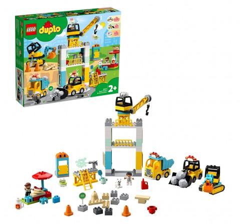 Lego Tower Crane And Construction V29, Unisex, 2Y+, (Multicolor)