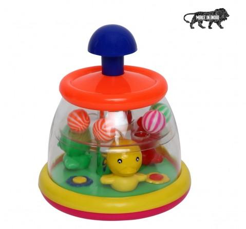 Toyspree Push N Spin Duck, Unisex, 18M+ (Multicolour)