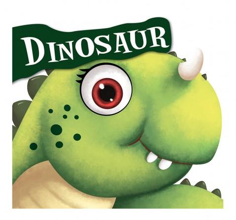 Dinosaur: Cutout Board Book, 10 Pages Book, Board Book