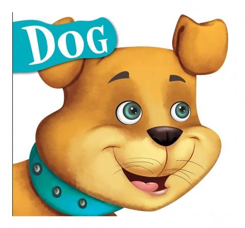 Dog : Cutout Board Book, 10 Pages Book, Board Book