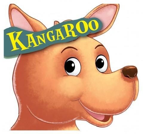 Kangaroo : Cutout Board Book, 10 Pages Book, Board Book