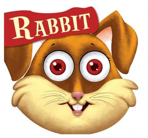 Rabbit : Cutout Board Book, 10 Pages Book, Board Book