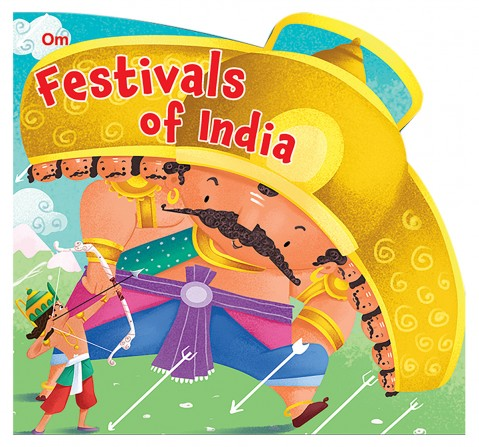 Festivals Of India : Cutout Board Book, 10 Pages Book, Board Book