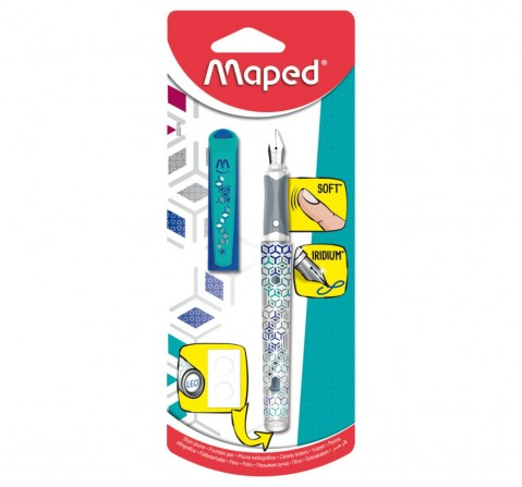 Maped Fountain Pen Classic, Unisex 7Y+ (Blue)