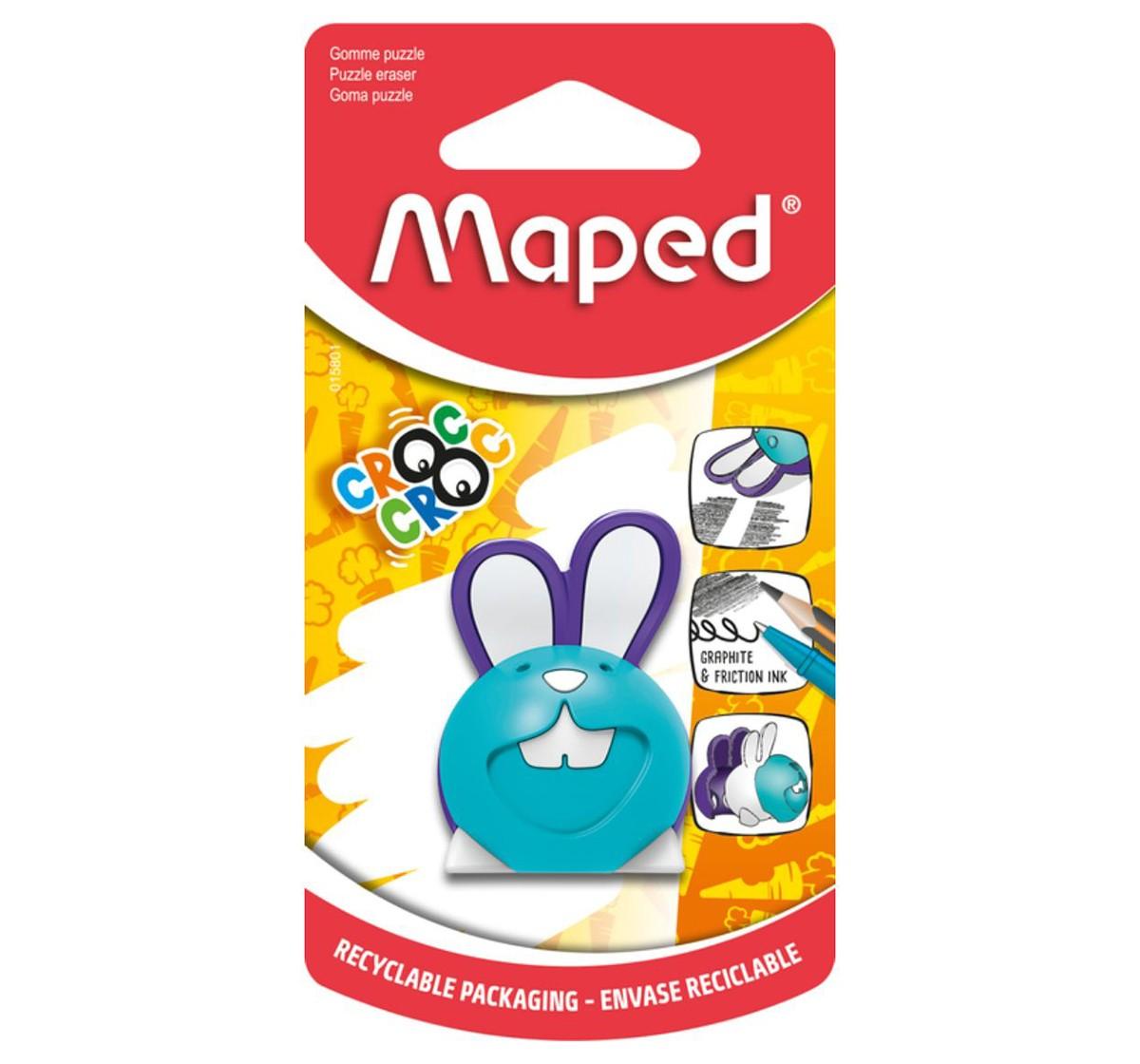 Maped Croc Puzzle Bunny Eraser, Unisex 7Y+ (Multicolour)