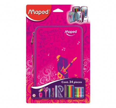Maped Statiory Kit For Girls 7Y+ (Purple)
