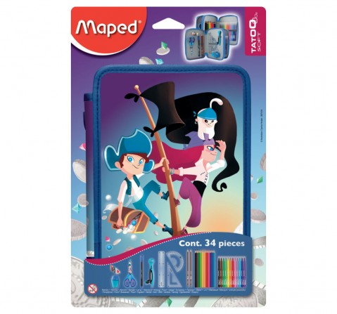 Maped Statiory Kit Pirates For Boys 7Y+ (Blue)