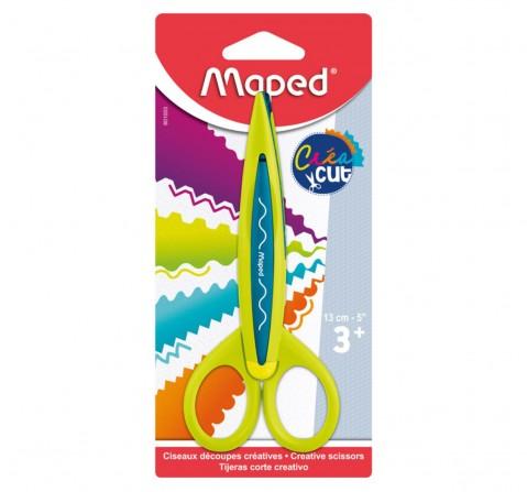 Maped Craft Scissors Creacut 5Pcs, Unisex 7Y+ (Yellow)
