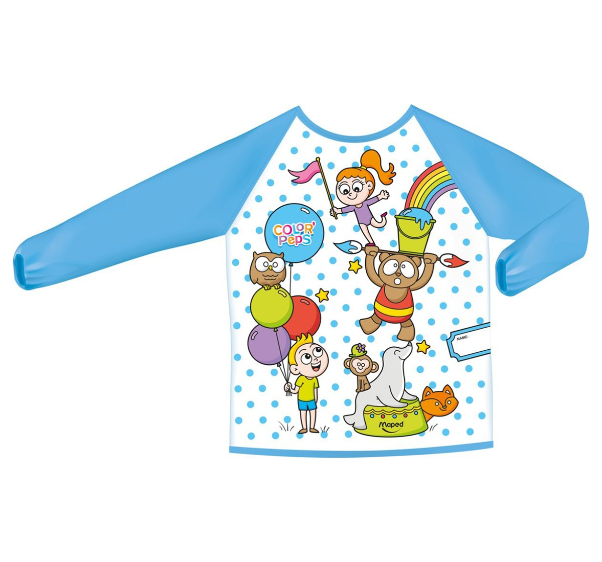 Maped Early Age Painting Apron, Unisex 4Y+ (Blue)