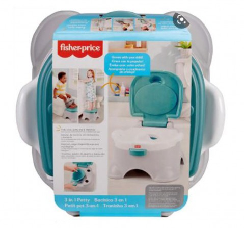 Fisher Price 3 In 1 Potty, Unisex, 12Y+ (Multicolor)