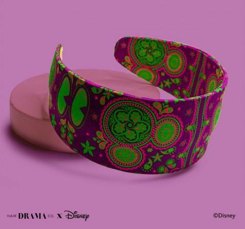 Hair Drama Company Disney Indie Minnie Flatband, Broad(One Size), Girls, 9Y+(Purple)