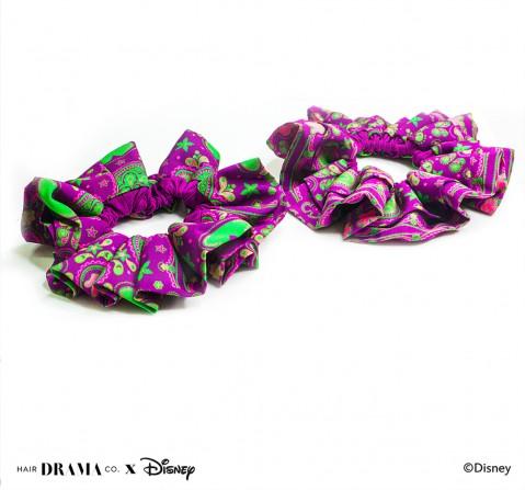 Hair Drama Company Disney Indie Minnie Scrunchies Set Of 2(One Size), Girls, 9Y+(Purple)