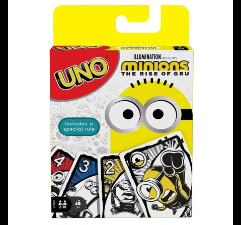 UNO Minions 2 Card Game for Kids, 7Y+